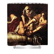 Judith Beheading Holofernes 1620 Shower Curtain