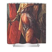 Judith Leaving The Tent Of Holofernes 1500 Shower Curtain