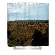 Judith River Cliffs Shower Curtain