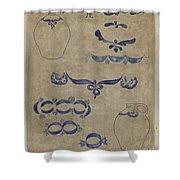 Jug And Decoration Shower Curtain