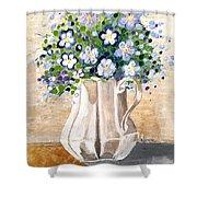 Jug Bouquet Shower Curtain