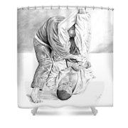 Jiu Jitsu Fundamentals The Armbar Shower Curtain