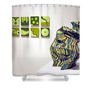 Juice -left  And June -right Shower Curtain