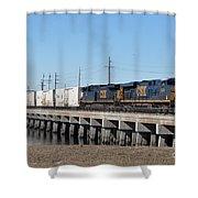 Juice Train Shower Curtain