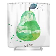 Juicy Pear Shower Curtain