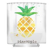 Juicy Pineapple Shower Curtain