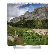 Julian Alps Shower Curtain