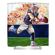 Julian Edelman Shower Curtain