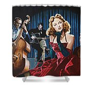 Julie London - Cry Me A River Shower Curtain