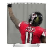 Julio Jones Shower Curtain