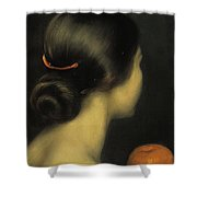 Julio Romero De Torres Shower Curtain