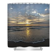 July 2015 Sunset Part 1 Shower Curtain
