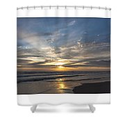 July 2015 Sunset Part 3 Shower Curtain