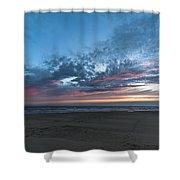 July 2015 Sunset Part 4 Shower Curtain