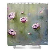 July Roses Shower Curtain