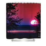 July Sunrise 1 Shower Curtain