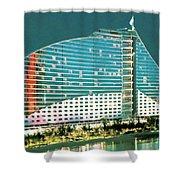 Jumeirah Beach Hotel Shower Curtain