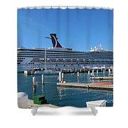 Jump Aboard Shower Curtain