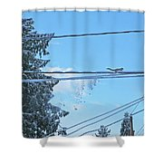 Jump Little Guy Shower Curtain