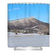 Jump Mountain Shower Curtain