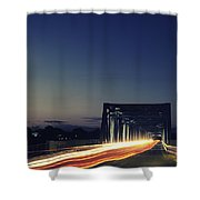 Junction Shower Curtain