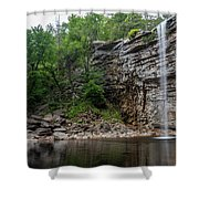 June Morning At Awosting Falls II Shower Curtain
