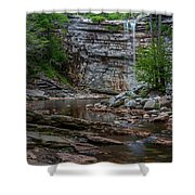 June Morning At Awosting Falls Shower Curtain