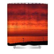 June Sunrise 2017 Shower Curtain