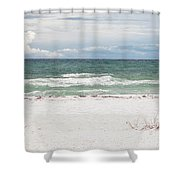 June Waves Shower Curtain