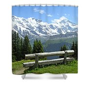 Jungfrau, Austria Shower Curtain