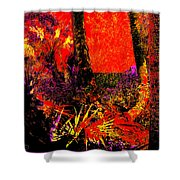 Jungle At The Corner Of Concha And Laconia Shower Curtain by Eikoni Images