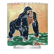 Jungle Beast Shower Curtain