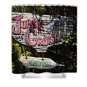 Jungle Cruise Shower Curtain