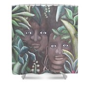 Jungle Depths Shower Curtain