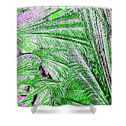Jungle Flora Shower Curtain