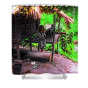 Jungle Life Shower Curtain