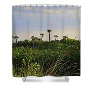 Jungle Oasis Shower Curtain