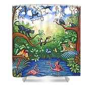 Jungle One Shower Curtain