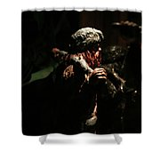 Jungle Out There Shower Curtain