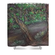 Jungle Rules Shower Curtain