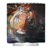 Jungle Tiger Shower Curtain