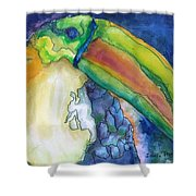 Jungle Toucan Shower Curtain
