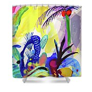 Jungle Vision Shower Curtain