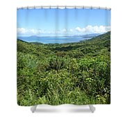 Jungleized Valley Shower Curtain