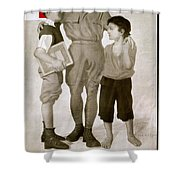 Junior Red Cross Poster Shower Curtain