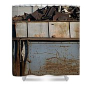 Junk 10 Shower Curtain