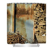 Junk 12 Shower Curtain