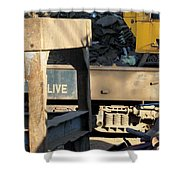 Junk 6 Shower Curtain