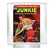 Junkie Shower Curtain