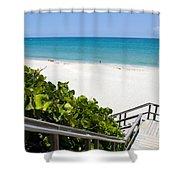 Juno Florida Shower Curtain